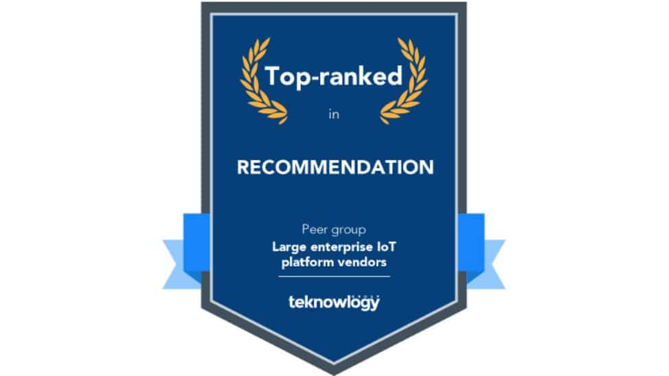 Award top-ranked in recommendation from teknowlogy
