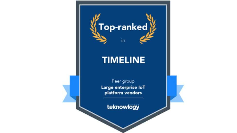 Award top-ranked in timeline from teknowlogy